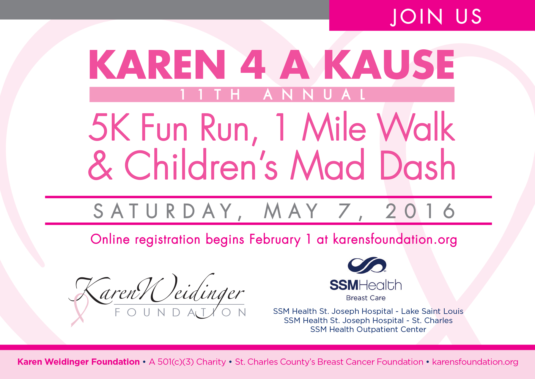 2016 Karen 4 A Kause Save the Date-1